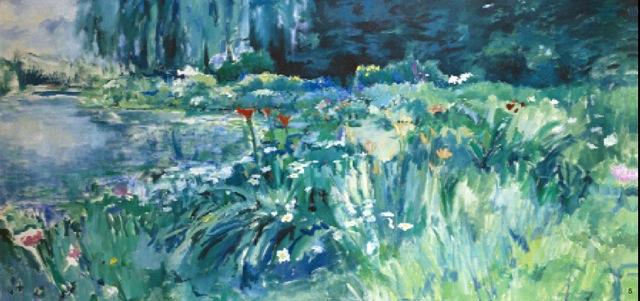 Fleur des champs au bord de L'etang